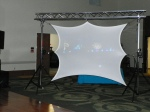 Used for slide shows, Live video images, live music video
